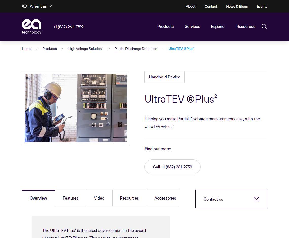 EA Technology - UltraTEV ®Plus²