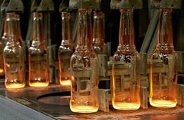 manufacturing of glass bottles